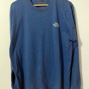 The North Face Blue Long Sleeve